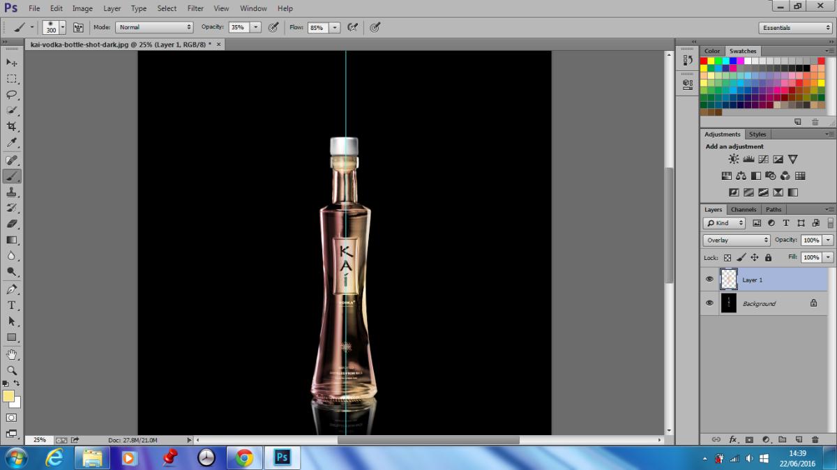 coloring botol