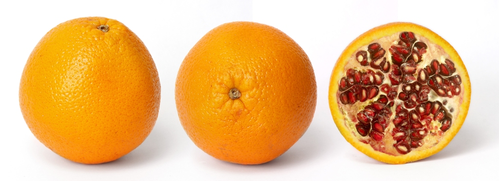 orange pomme